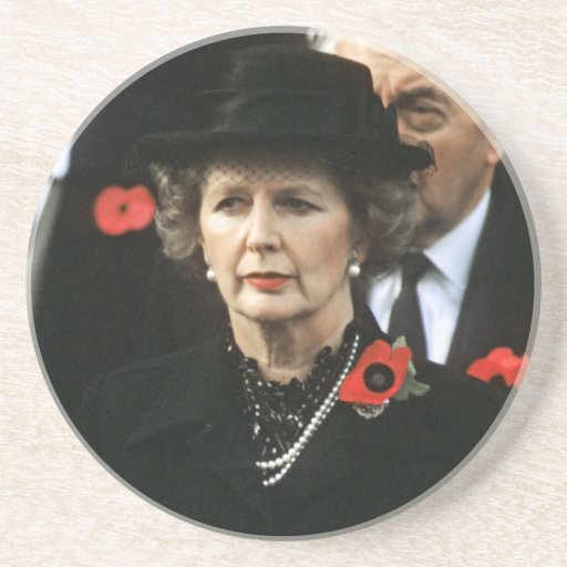 Margaret Thatcher I Love Maggie Coaster