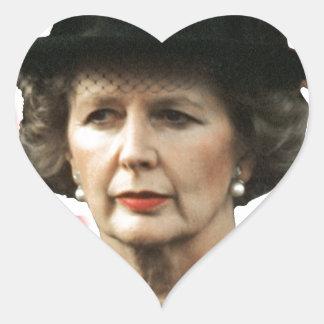 Margaret Thatcher I Love Maggie Heart Sticker