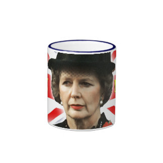 Margaret Thatcher I Love Maggie Ringer Mug