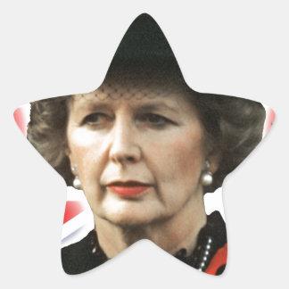 Margaret Thatcher I Love Maggie Star Sticker
