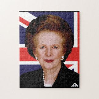Margaret Thatcher Jigsaw Puzzle