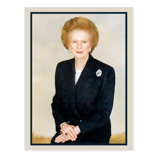 Margaret Thatcher, la dama de hierro Postales