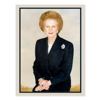Margaret Thatcher, la dama de hierro Tarjetas Postales