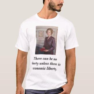 Margaret Thatcher on Liberty T-Shirt