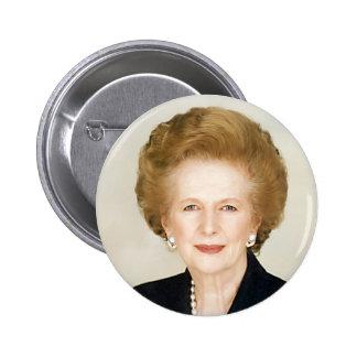 Margaret Thatcher Pinback Button