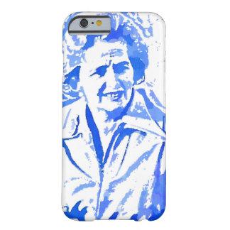Margaret Thatcher Pop Art Portrait Barely There iPhone 6 Case