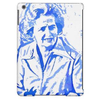 Margaret Thatcher Pop Art Portrait Cover For iPad Air