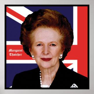 Margaret Thatcher Póster
