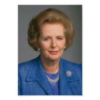 Margaret Thatcher Print