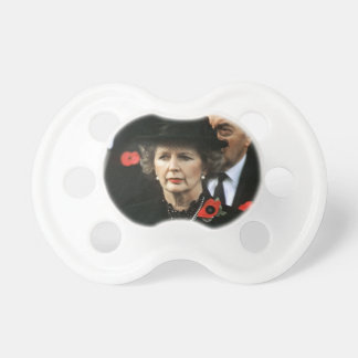 Margaret Thatcher Prime Minister Baby Pacifier