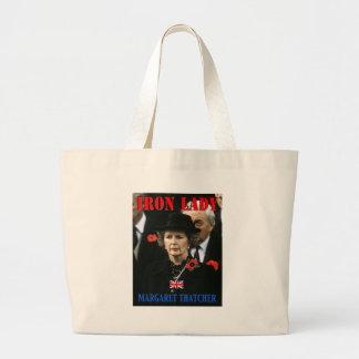 Margaret Thatcher Prime Minister Jumbo Tote Bag