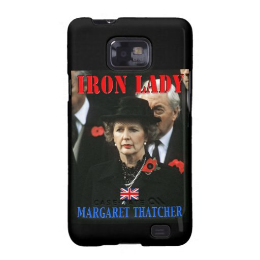 Margaret Thatcher Prime Minister Galaxy SII Cases