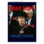 Margaret Thatcher Prime Minister Greeting Card