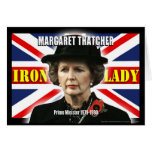 Margaret Thatcher Prime Minister Greeting Cards