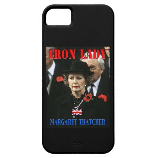 Margaret Thatcher Prime Minister iPhone 5 Covers