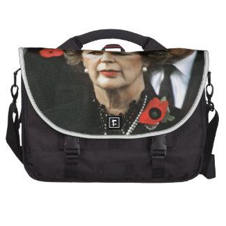 Margaret Thatcher Prime Minister Laptop Commuter Bag