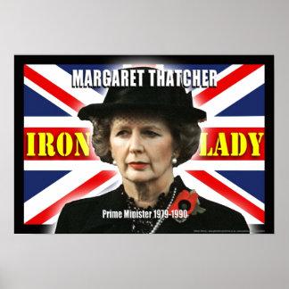 Margaret Thatcher Prime Minister Poster