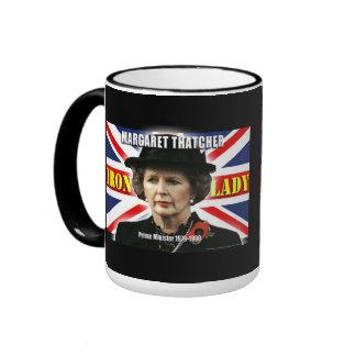 Margaret Thatcher Prime Minister Ringer Mug