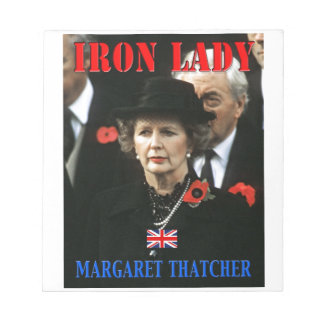 Margaret Thatcher Prime Minister Scratch Pads