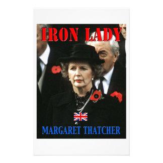 Margaret Thatcher Prime Minister Stationery