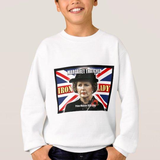 Margaret Thatcher Prime Minister Sweatshirt