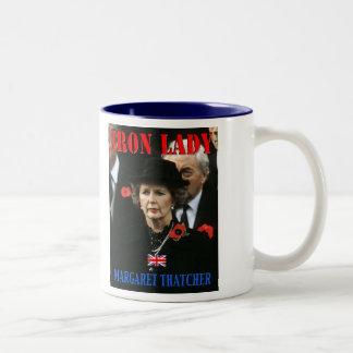 Margaret Thatcher Prime Minister Two-Tone Coffee Mug