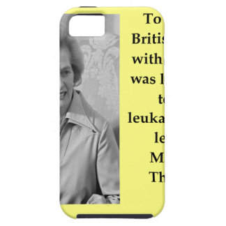 Margaret Thatcher quote iPhone SE/5/5s Case