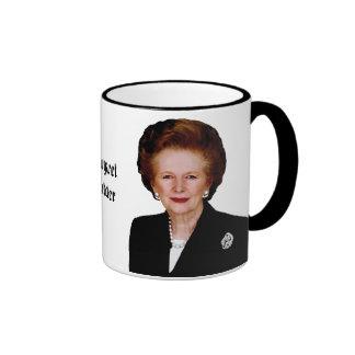 Margaret Thatcher Ringer Coffee Mug