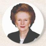 Margaret Thatcher Sandstone Coaster
