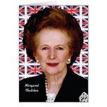 Margaret Thatcher Tarjetas