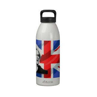 Margaret Thatcher Union Jack Botellas De Beber