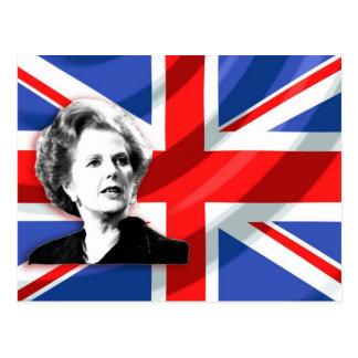 Margaret Thatcher Union Jack Postales