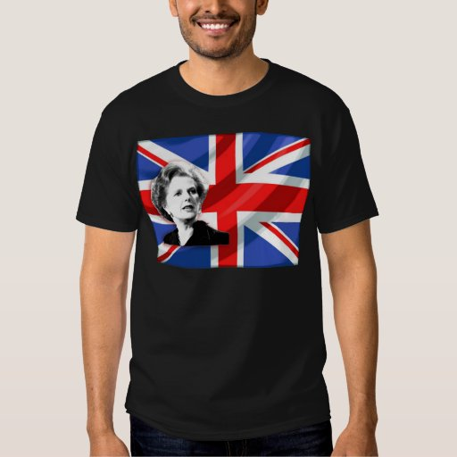 Margaret Thatcher Union Jack Shirt
