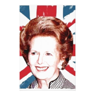 MARGARET THATCHER UNION JACK STATIONERY