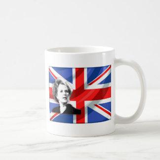 Margaret Thatcher Union Jack Taza De Café