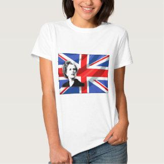 Margaret Thatcher Union Jack Tee Shirt