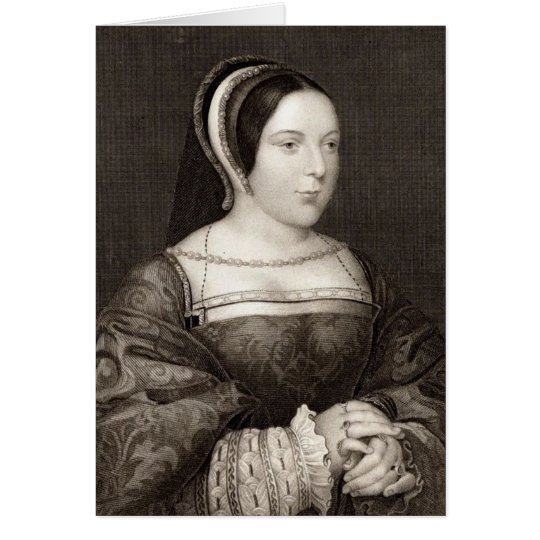 Margaret Tudor Card
