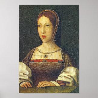 Margaret Tudor, daughters of Henry VII Poster