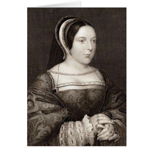 Margaret Tudor Tarjeta De Felicitación