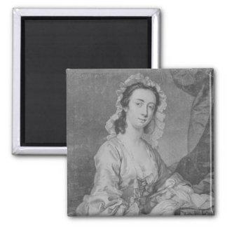Margaret Woffington, grabado por el JR de Juan Fab Imán Cuadrado