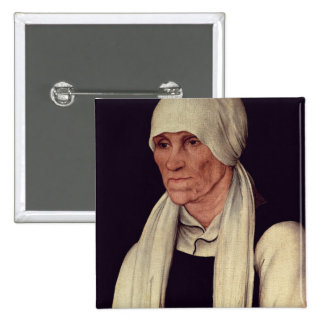 Margarethe Luther , mother of Martin Luther 2 Inch Square Button