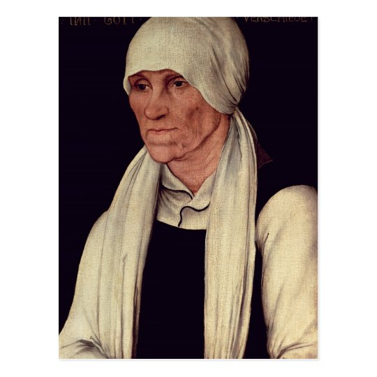 Margarethe Luther , mother of Martin Luther Postcard