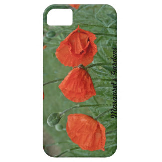 Margaret's Gardens Poppy Barely There iPhone Cases