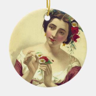 Margarita 1850 ceramic ornament