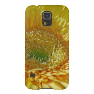 Margarita amarilla del Gerbera de la sol Funda Para Galaxy S5