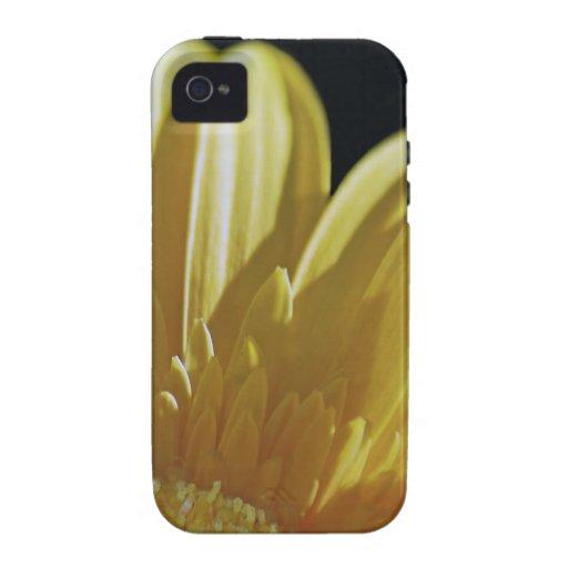 Margarita amarilla del Gerbera iPhone 4/4S Carcasa