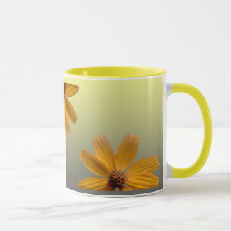 Margarita amarilla taza