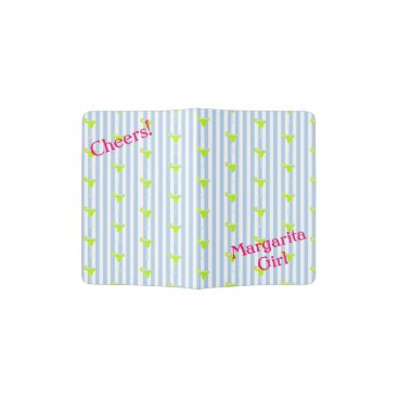 McTiffany Tiffany Aqua Margarita And Limes Fiesta Party Passport Holder