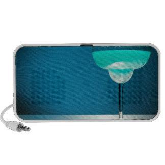 Margarita azul helada iPhone altavoz