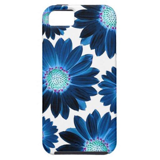 Margarita azul iPhone 5 cobertura